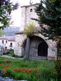 l'église de Paralejos de la Truchas