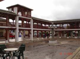 La place de Puerto Lapice