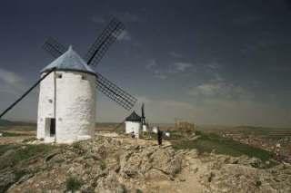 Les moulins et le château