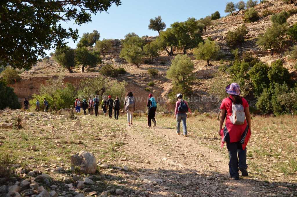 Randonnée à Ain Khanfous Oueslatia - randonnée pedestre