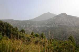 Circuit randonnée Sidi Medien à Zaghouan - paysage