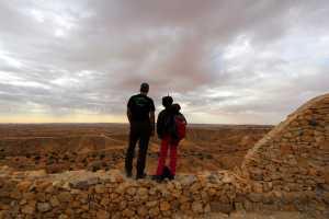 Circuit randonnée Zammour - randonneur au ksour