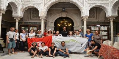 Randonnée culturelle a la medina de Tunis - groupe
