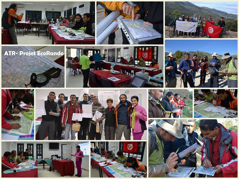 Inauguration circuits EcoRando