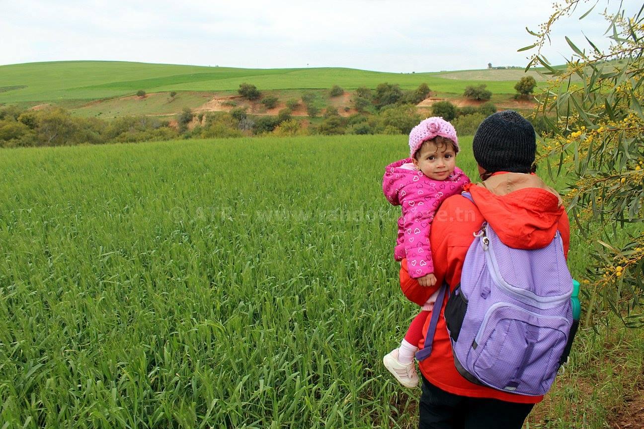 randonner avec ses enfants pendant les vacances
