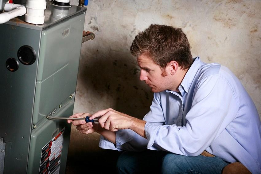 Gas & Electric Furnace Repair Service