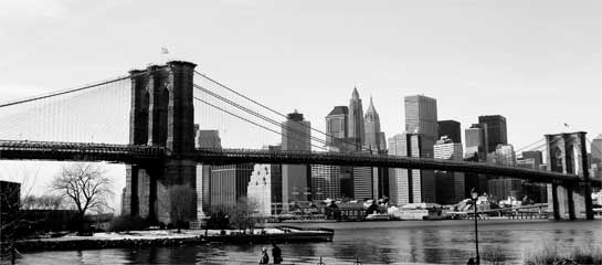 Brooklyn Bridge Afar