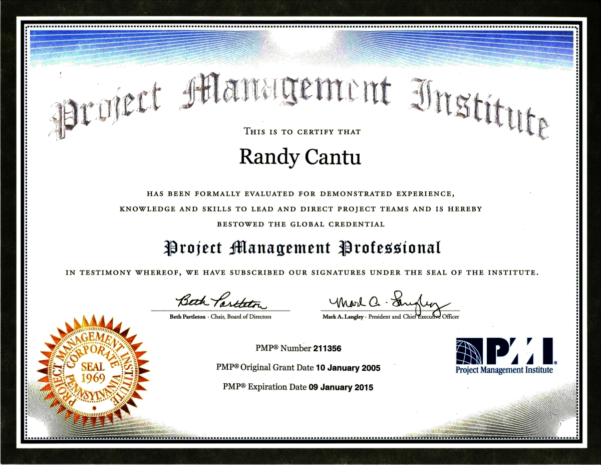 Pmp Certified On Resume. resume pmp image search results picture ...