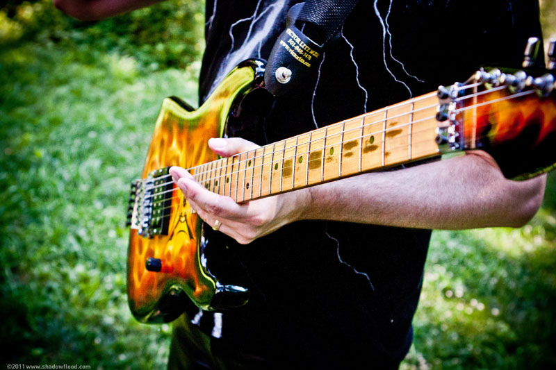 Randy Ellefson's guitar 2010