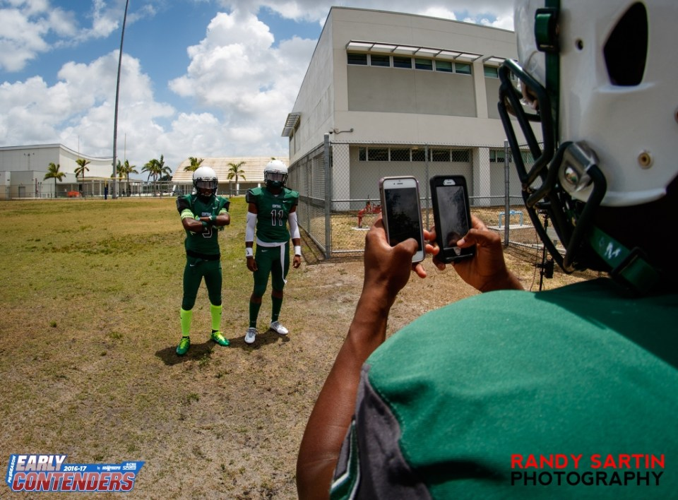5-2-2016 MaxPreps Preseason Top 25 Photo Shoot at Miami Central High School in Miami, FL.