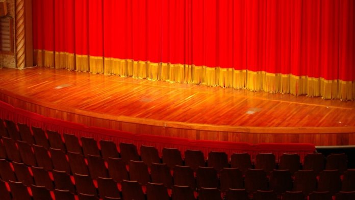 Theatre Stage Curtains and Seats