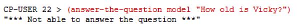 This Question Fails