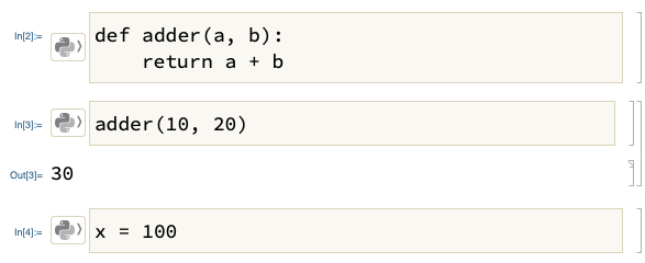 Python Integration in Mathematica 12