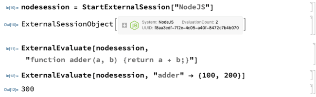 Explicit NodeJS Session