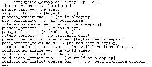 Full Conjugation - Example1