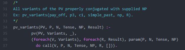 Prolog Predicate