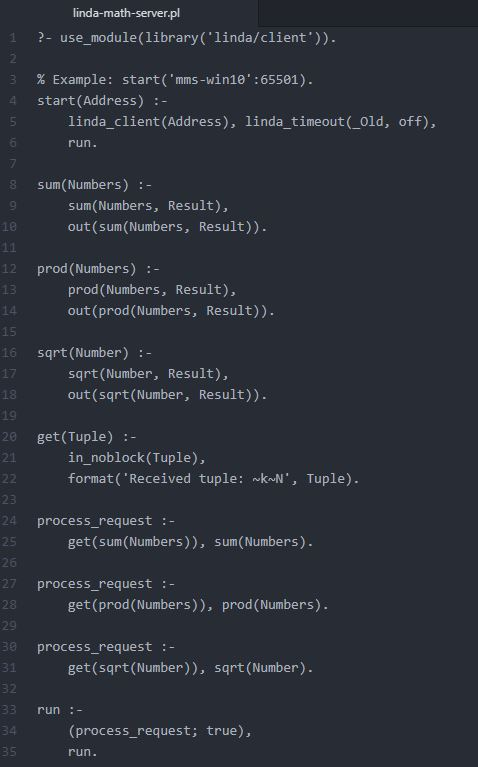 Math Server (Part 1)