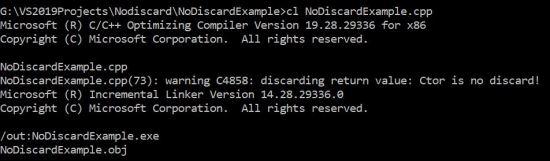 Compiler Output
