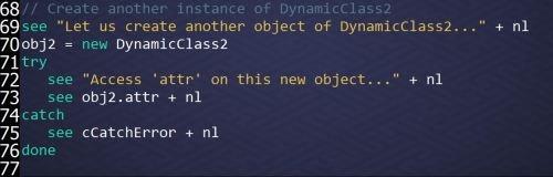 Changes are Object-Specific