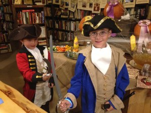 Lord Cornwallis and George Washington mostly put battles aside to enjoy the carnival!