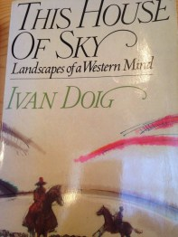 Landscapes of a Western Mind by Ivan Doig book cover