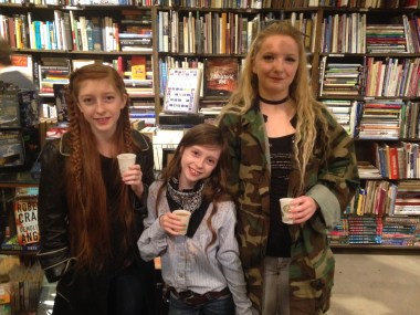 The Roberts sisters enjoy a good Haunted Bookstore!