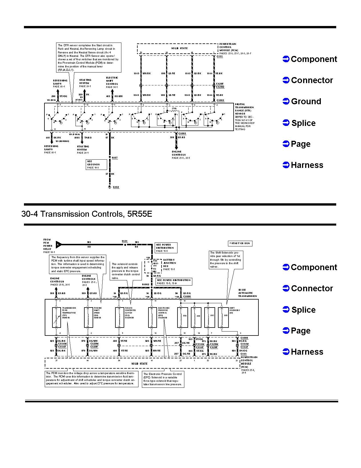 Ford Focus Automatic Transmission Diagram Ranger Solenoid Electrical 1267x1639