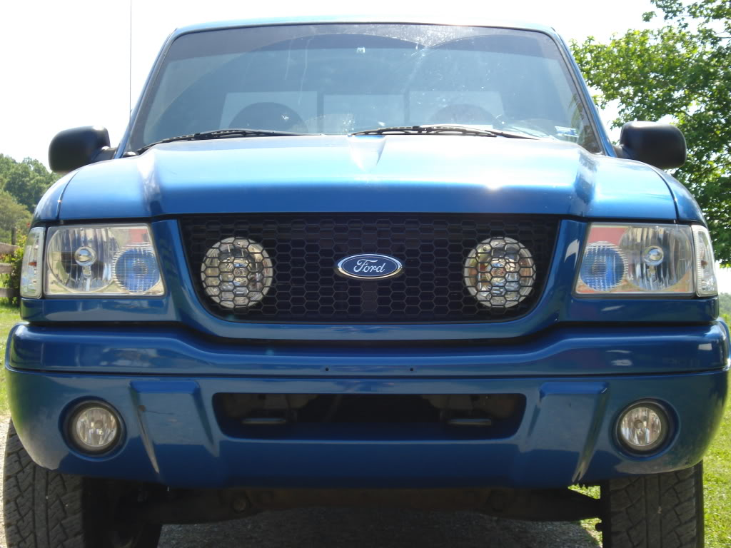 Ford Ranger Grill Lights Behind