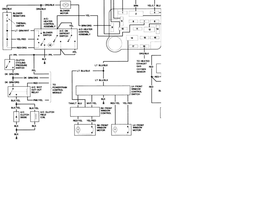 Diagram Ford Ranger Ac Wiring Diagram Full Version