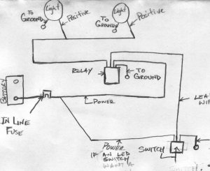 off road lights wiring diagram  RangerForums  The