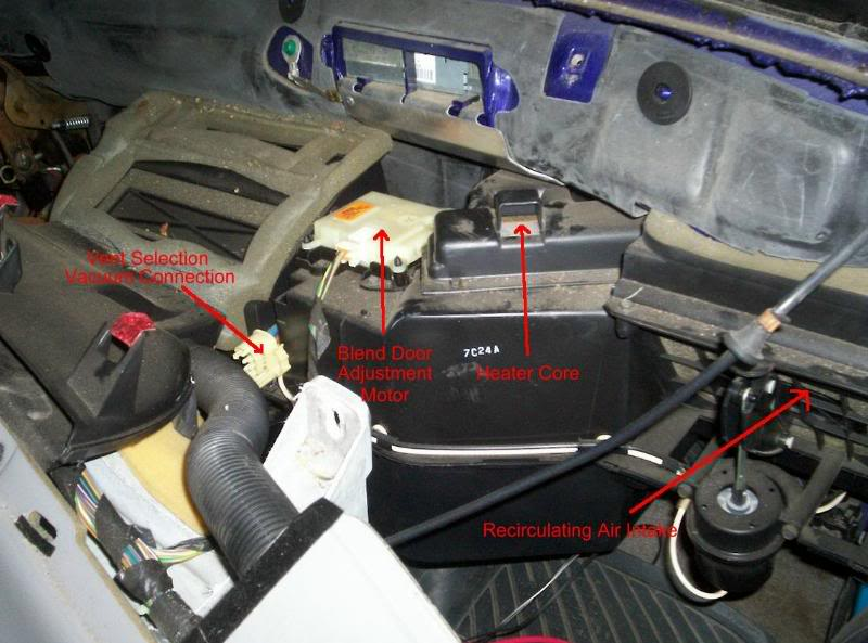 AC, Fan and all positions work but no heat  RangerForums  The Ultimate Ford Ranger Resource