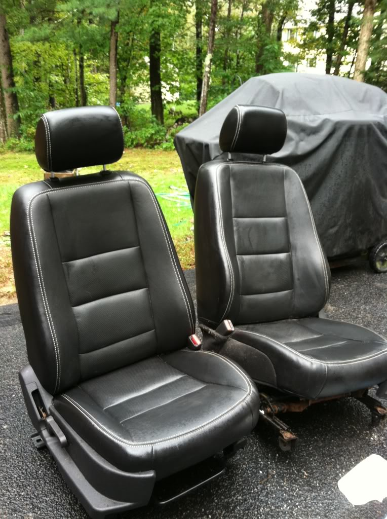 For Sale Black Leather Seats Ma Ranger Forums The Ultimate Ford Ranger Resource