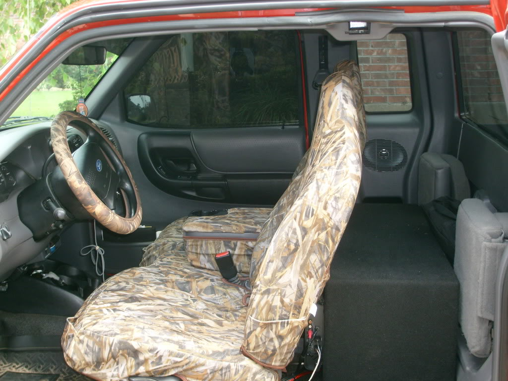 2002 Ford Ranger Seat Covers
