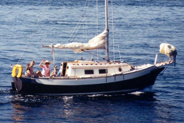 Narnia Bound, Ranger 26 sailboat