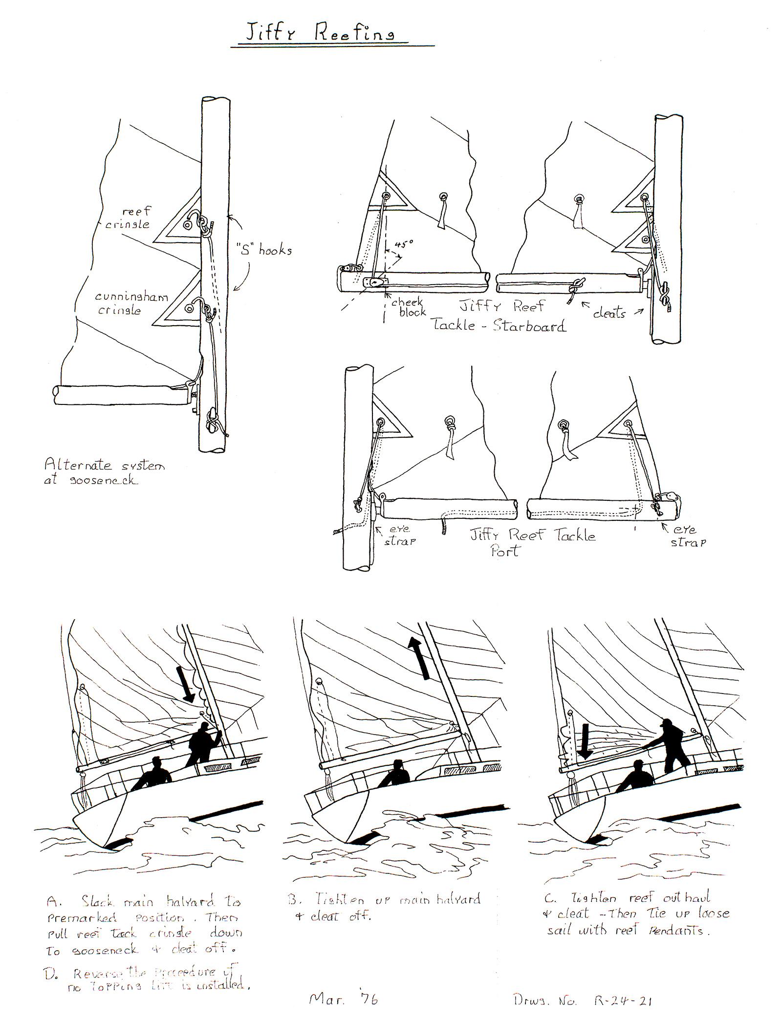 Tech Drawings   Ranger 26 Sailboats