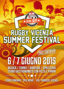 Rugby Vicenza Summer Festival 2015