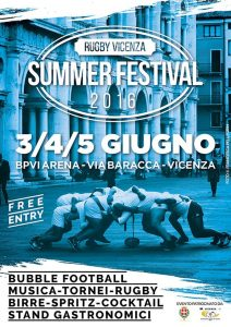 Rugby Vicenza Summer Festival 2016