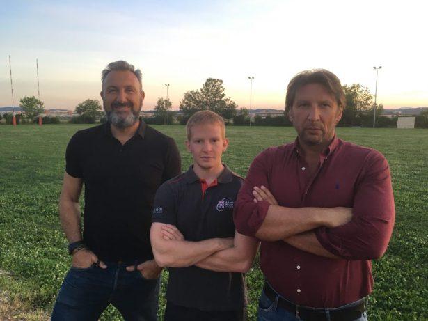 Da sinistra: Fabio Coppo, Jacopo Forza, Roberto Rampazzo