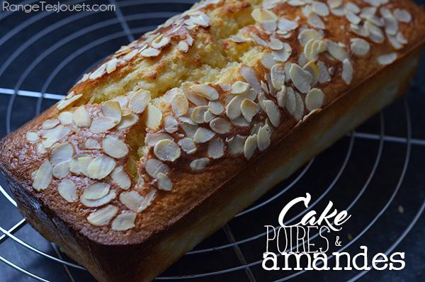 cake-amande-poire-recette-facile