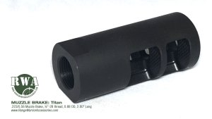 Titan AR Muzzle Brake from RWA