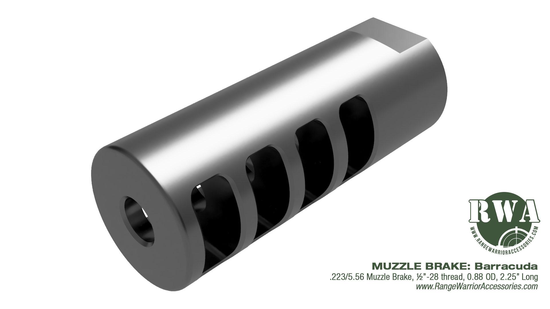 Barracuda AR Muzzle Brake by RWA