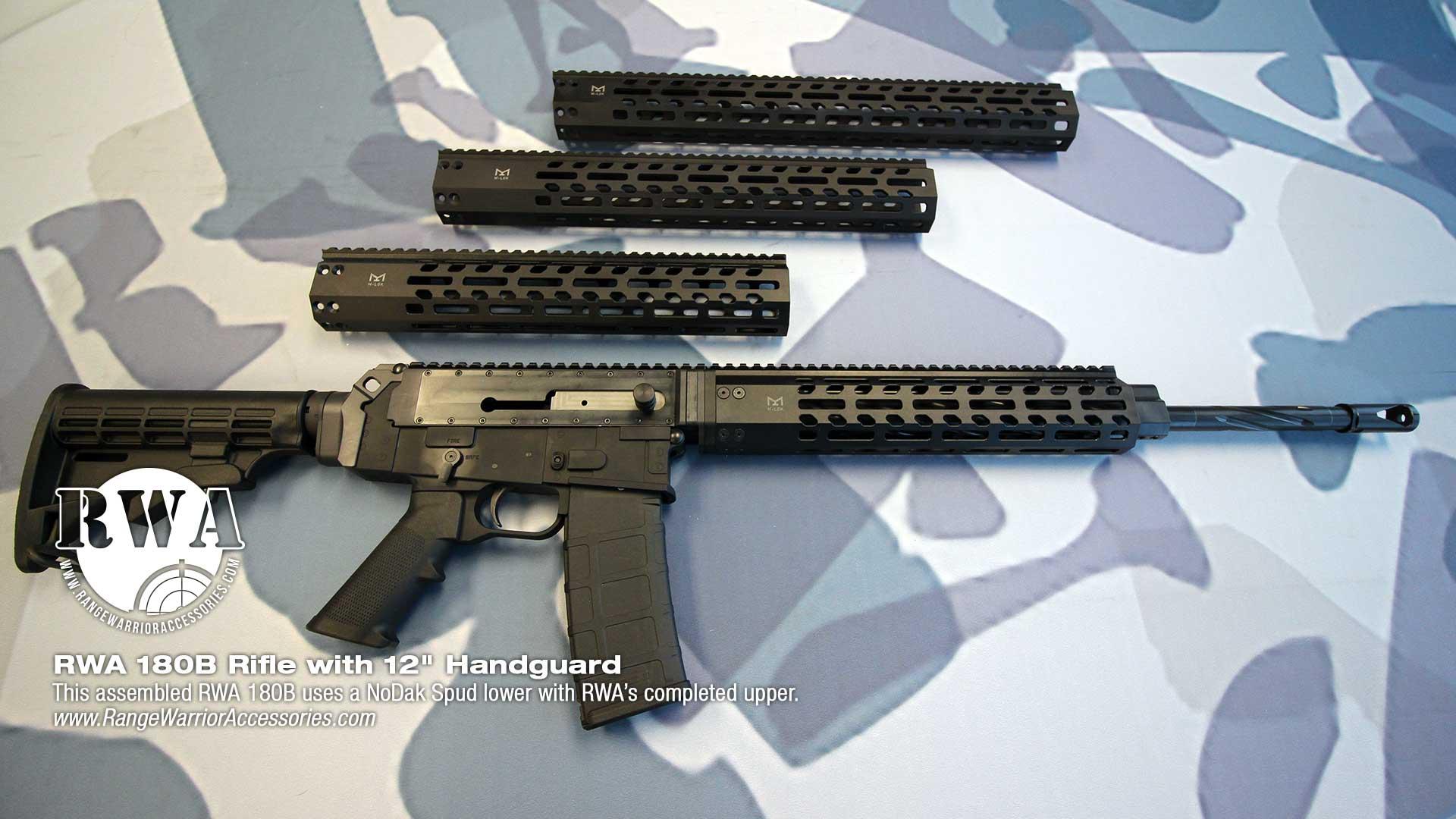 RWA AR 180B Rifle with 12-inch Handguard