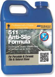 A jug of 511 Anti-slip formula