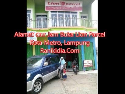 Alamat dan Jam Buka Lion Parcel Kota Metro, Lampung