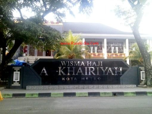 Jalur Alternatif, Luar Provinsi Menuju Wisma Haji Alkahiriyah Kota Metro