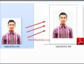CPNS 2018; Cara Mudah Edit Foto JPG ke PDF, Jadikan 1 File