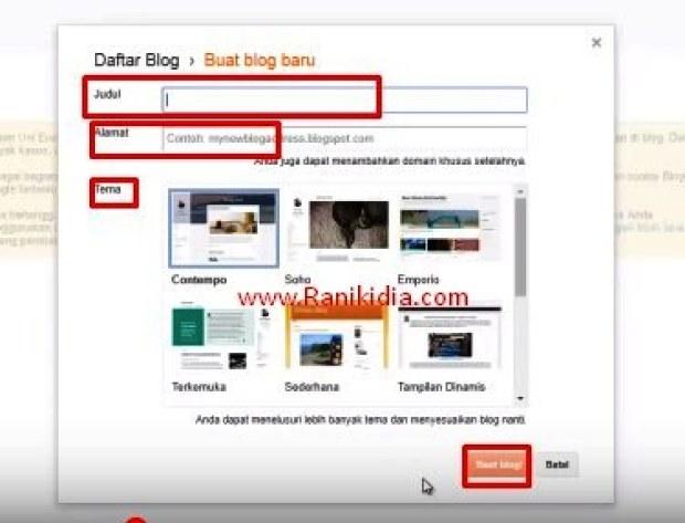 Cara Mudah Buat Website/Blog Gratis Buat Pemula