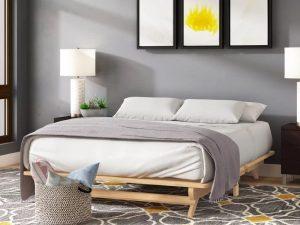Tempat Tidur Unik Minimalis Kayu Jati