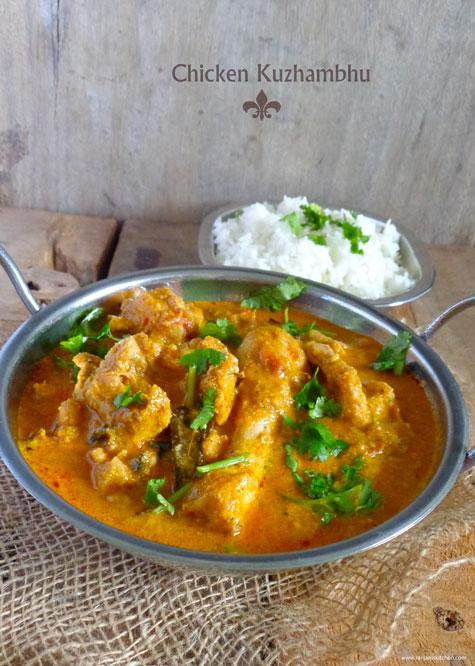 chicken kuzhambhu
