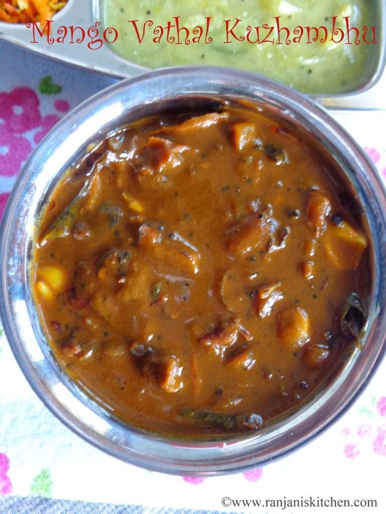 Vathal Kuzhambhu